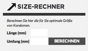 What's new? Der Size-Rechner